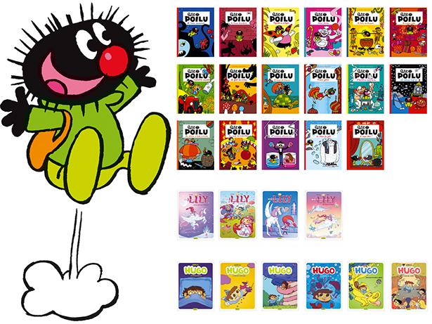 Petit Poilu, Lily et Hugo sélectionnés par l'IBBY !