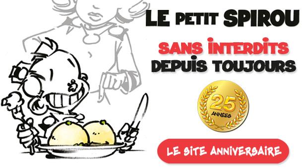Le Petit Spirou fête ses 25 ans