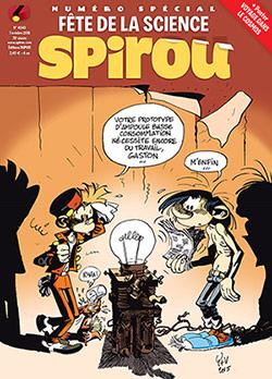 Le Journal de Spirou spécial Fête de la science