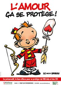 Le Petit Spirou s'associe à Sida Info Service et la Plate-Forme Prévention Sida