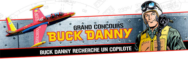 Grand concours Buck Danny
