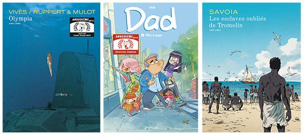 Festival d'Angoulême 2016 : nos albums sélectionnés!