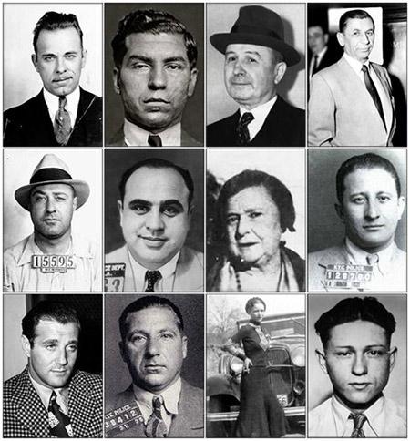 Gangsters des années 20, source d'inspiration de Mataite