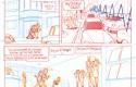 Le Spirou de Benoit Feroumont : crayonné de la planche 6