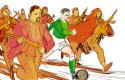 Un maillot pour l'Algérie : projet de couverture