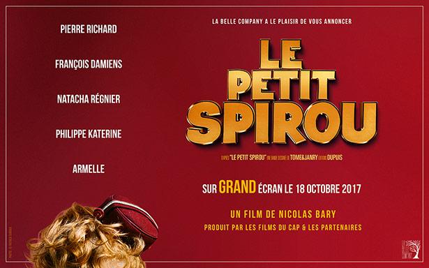 Casting du film Le Petit Spirou de Nicolas Bary