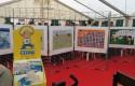 Espace dédié à Cédric au Festival BD de Louvain-La-Neuve