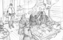 Des histoires courtes des Tuniques Bleues : extrait de l'histoire par Bodart et Gloris