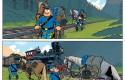 Des histoires courtes des Tuniques Bleues : extrait de l'histoire par Pau et Lapière