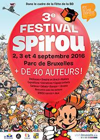 FESTIVAL SPIROU : du 2 au 4 septembre 2016