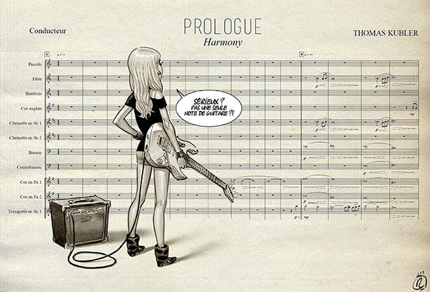 Harmony se lit en musique !