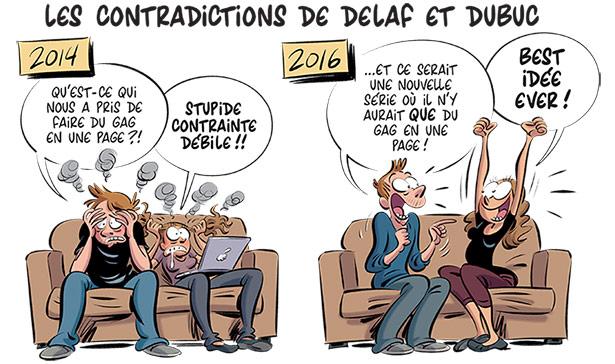 Les Nombrils par Delaf et Dubuc