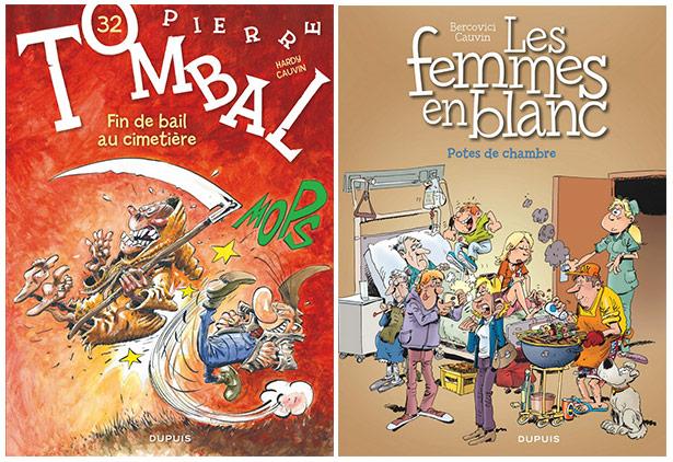 Pierre Tombal et Les Femmes en Blanc