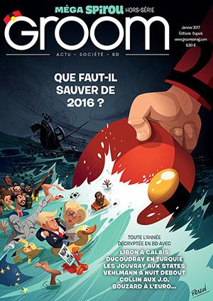 GROOM n°3, le magazine d'actualité en bande dessinée