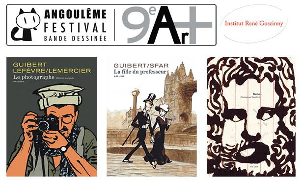 Angoulême, Le Prix René Goscinny décerné à Emmanuel Guibert