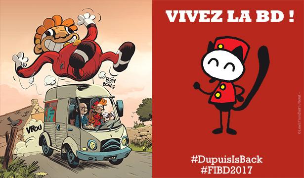 Angoulême 2017 : Vivez la BD sur le stand des Éditions Dupuis !