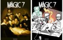 Magic 7, tome 3 : couverture inspirée de Rembrandt