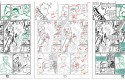 Magic 7, tome 3 : storyboards en 3 versions (neutre, indications, textes)