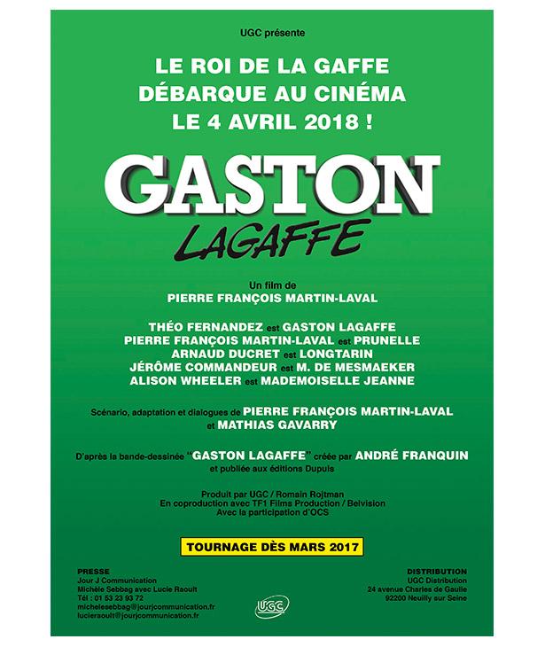 Gaston au cinéma c'est pour bientôt !