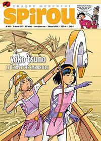 Yoko Tsuno, tome 28 dans le Journal Spirou