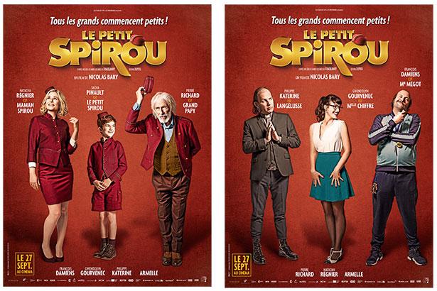 Visuels teaser du film Le Petit Spirou de Nicolas Bary en salle le 27 septembre !