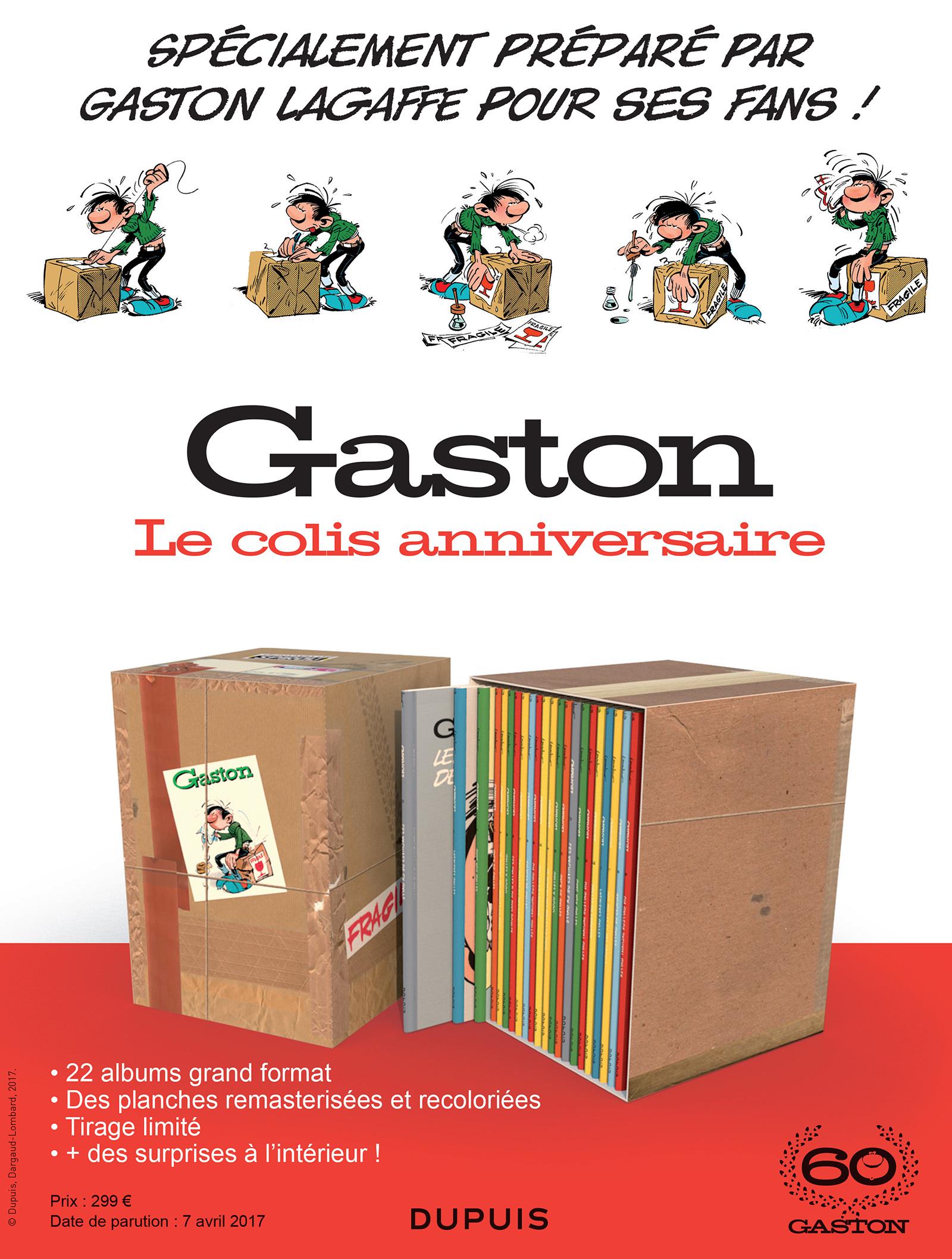 Gaston, le colis anniversaire des 60 ans !
