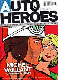 Michel Vaillant en Une du magazine AUTO HEROES