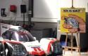 """Conférence de presse de lancement du nouvel album de Michel Vaillant, """"Rébellion"""", chez Porsche Belgique"""