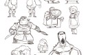 Bushido, Tome 1 : Étude de personnages
