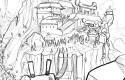 Bushido, Tome 1 : crayonné