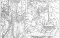 Yoko Tsuno, tome 28 : crayonné des ruines du château médiéval