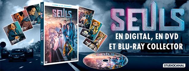Seuls, le film en DVD et Blu-Ray