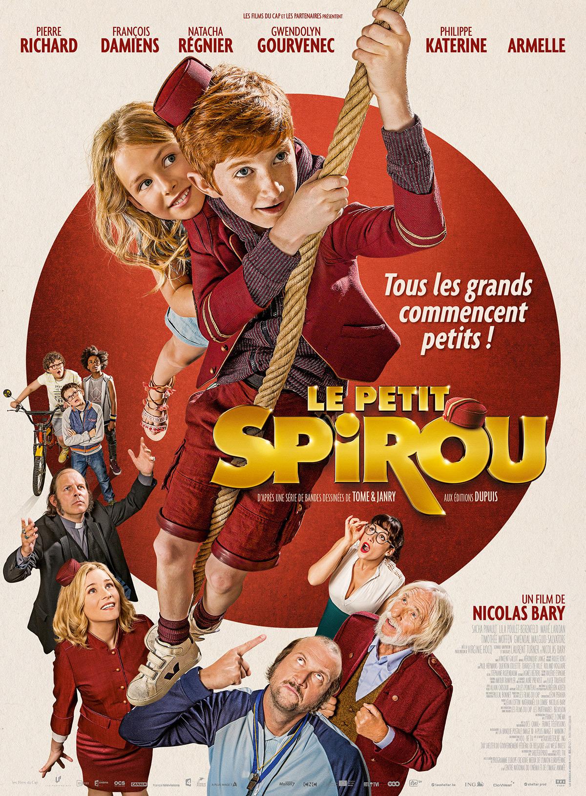 Le Petit Spirou affiche du film