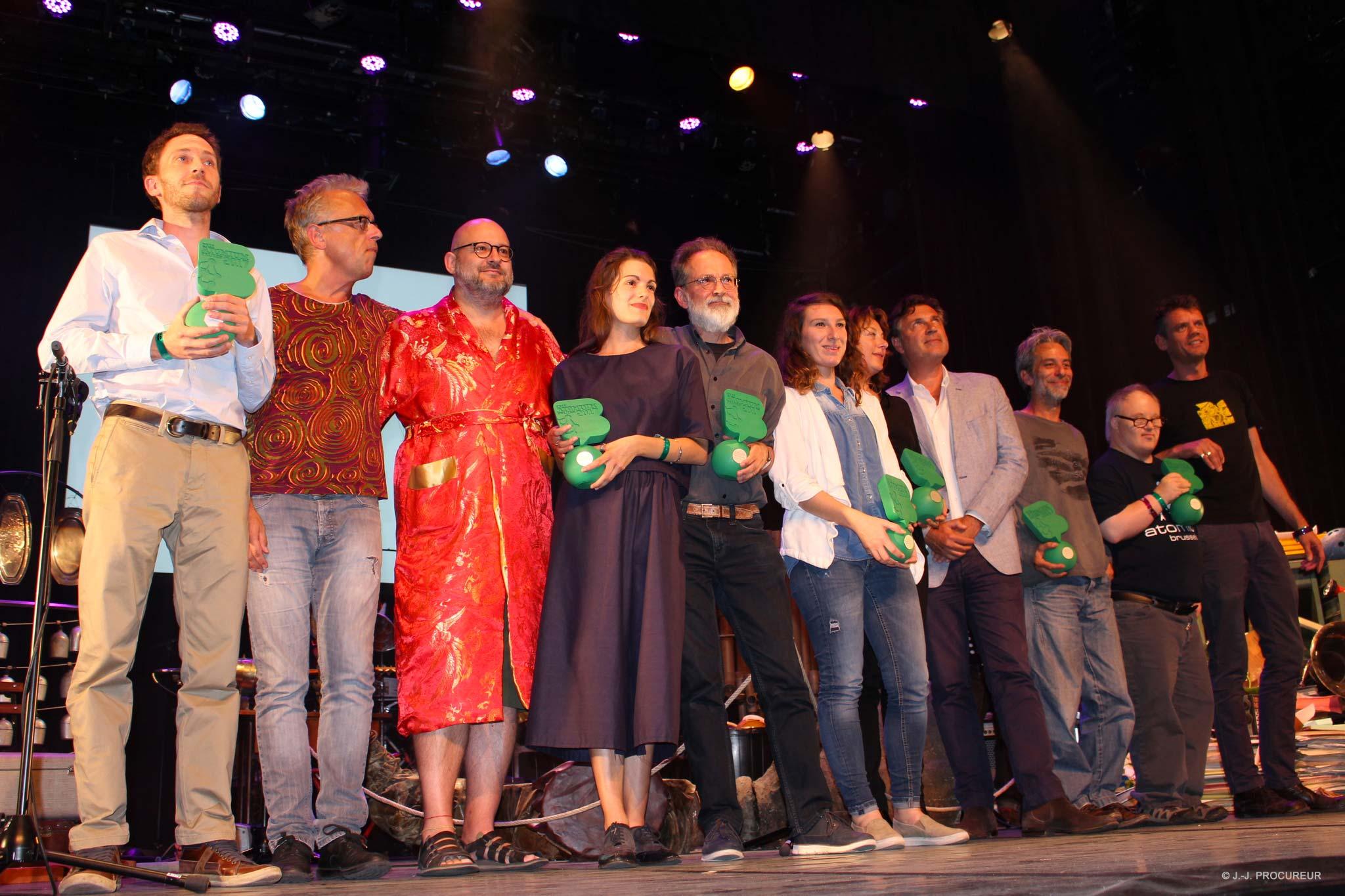 Les lauréats des Prix Atomium 2017